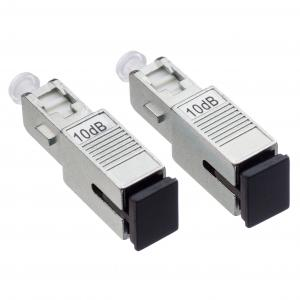 China MPO / FC Fiber Optic Attenuator 9 / 125µM With 125 Micron Diameter Cladding on sale