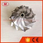 HX40 62.45/84.00mm 11+0 blades high performance turbocharger billet/milling/aluminum 2618 compressor wheel