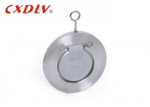 China GB Standard 16P Single Door Wafer Check Valve Stainless Steel CF8 / CF8M on sale