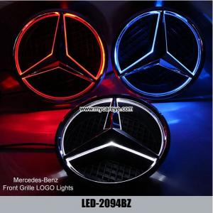 China Mercedes-Benz Car Badge Light Auto Emblem GL350 GL400 GL500 GL550 on sale