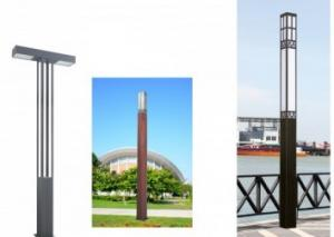 China Campus / Garden Bollard Lights , Scenic Area Commercial Led Pole Lights High Standard on sale