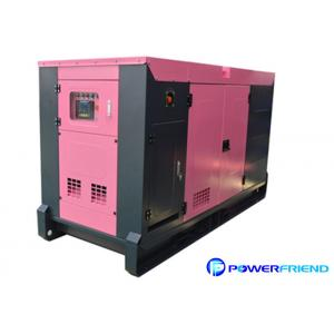 Quality 20 Kw 25 Kw Silent Diesel Generator Set with Water Cooled , Quiet Portable Generator for sale