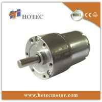 37mm metal gearbox 6V 12V 24V quiet gear reduction motor