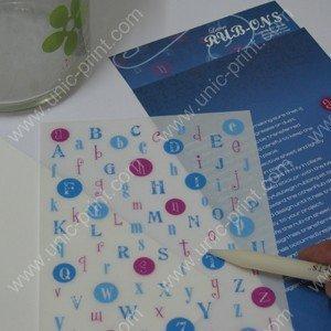 China Cartoon Car Window Sticker/Decal (Vinyl Adhesive Cut) on sale