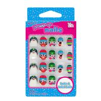 Big Googly Eyes Cartoon Fake Nails Lovely 3D Full Cover Nails For Kids