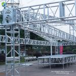 Cheap Price Used Outdoor Mobile Stage Aluminum Lighting Truss System, Aluminum Spigot Truss With Tower System For Sale
