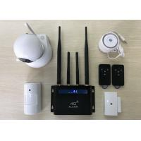 Wifi Camera Wireless Burglar Alarm , LTE DIY Smart Detector Home Security Alarm