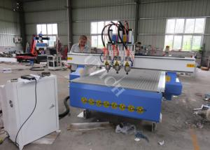China Multi spindle 3d cnc router 3 Axis Control Motor cnc wood carving machine on sale