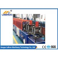 PLC Control Door Frame Roll Forming Machine Servo Guiding Device Full Automatic