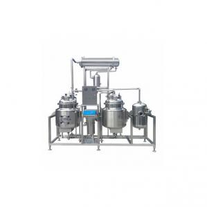 China Stainless Steel Herbal Extraction Equipment , Oil Extraction Production Line on sale