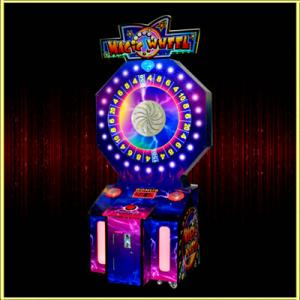 China Magic Wheel ticket lottery game machine on sale