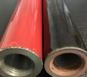 China Red Ceramic Thermocouple Protection Tubes Good Smooth Industrial on sale