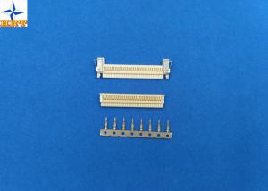 China 1.0mm pitch FI-X gold-flash crimp terminals with phosphor bronze material for AWG30# to 34# on sale