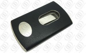 China Easy In Out  Business Leather Credit Card Holders Wrapped OEM / ODM on sale