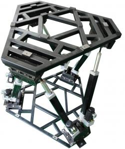 China 200Kg Payload Capability Motorized Rate Table YBT6-200 6 DOF Swing Test Table on sale