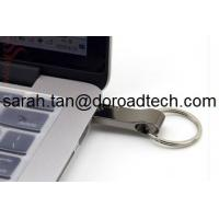 China Metal Portable Keychain USB Flash Drive, Real Capacity Metal USB Memory Sticks on sale