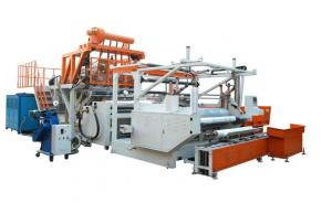 China PE Stretch Film Machine High Capacity Auto PLC Control System on sale