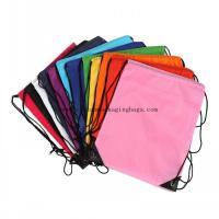 wholesale custom printing NY drawstring bag PA waterproof plastic bag