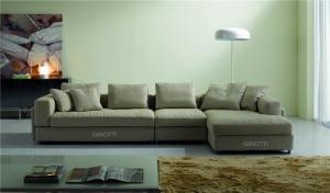 Quality Modular corner sofa ,  Arabic Gray Modern FabricSofas ,  Living room fabric sofa for sale