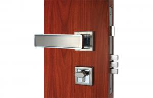 Quality Commercial Entry Lever Mortise Cylinder Locks Custom 3 Brass Keys for sale
