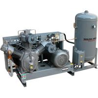 AC 11kw Oilless Low Pressure Piston Air Compressor With Tank For Mining 40 Bar