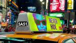 3G/4G P5 Two Side Taxi Top LED Display / LED Panel Full Color Dimension Customized