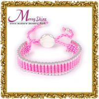 OEM / ODM love pink links friendship bracelets jewelry for girls ornament LS009