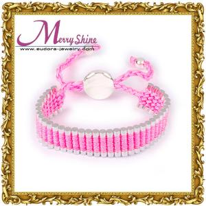 China OEM / ODM love pink links friendship bracelets jewelry for girls ornament LS009 on sale