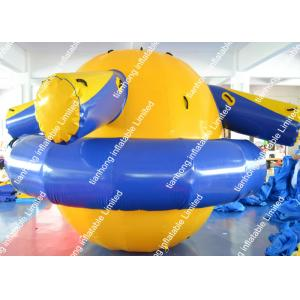 China Customized inflatable Saturn / Gyro Inflatable Water Toys For adults on sale