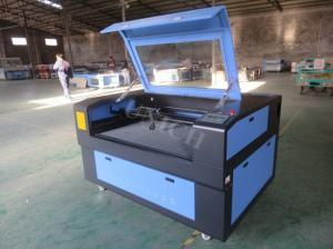 China Red and black CO2 Laser Engraving Machine LXJ1290 , portable laser cutting machine on sale