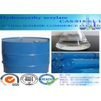 Hydroxyethyl Acrylate Water Solubility Paint Solvent CAS 818-61-1 C5H8O3