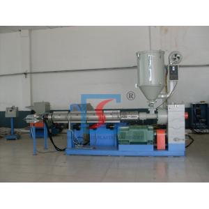 China Sj Series Single Screw Extruder For Pipe / Sheet / Profile , Plastic Extruder Machine on sale