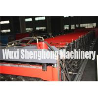 Touch Screen Double Layer Roll Forming Machine , Roof Tiles Making Machine