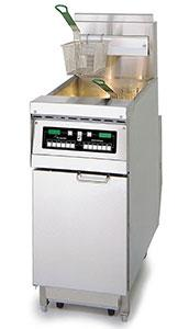 China double basket deep fryer on sale