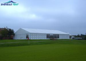 China Aluminium White Outdoor Large Marquee Tent Flame Retardant Wind Resistant on sale
