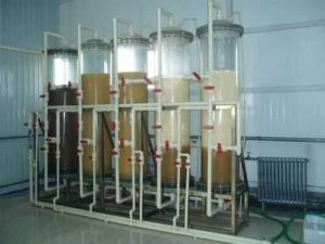 China Food Grade Industrial Steam Deaerator , Ion Exchange Industrial Water Treatment Plant on sale