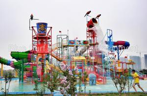 Quality Shandong 100,000 M2 Water Park Fiberglass Water Slide Water Park Equipment for sale