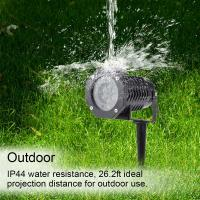 ABS machine house twinkling star laser projector for outdoor garden and yard decoration