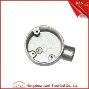 China Une CLASSE galvanisée 4 de CONDUIT du GI BS4568 d'immersion chaude de boîte de jonction de conduit de manière on sale