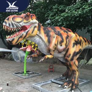 China Wildlife Park Prehistoric Simulation Realistic Dinosaur Models Customizable Size supplier