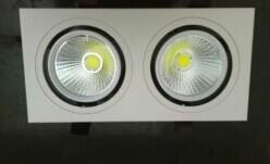 China Shockproof 10W 80 Ra Recessed LED Ceiling Lights three years warranty on sale
