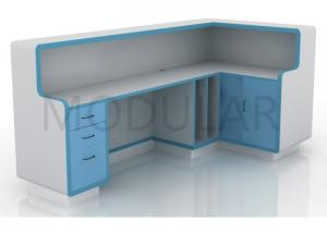 China Medical Clinical Laboratory Work Benches Painted Steel Aluminum Alloy on sale
