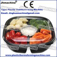 Plastic Thermoforming Machine,forming-cutting-stacking for Trays/Clamshell/Blister/Food