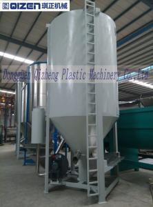 China Durable Big Rice Mixer Machine , Dry Ingredient Mixer Machine Hot Air Port Designed on sale