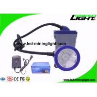 6.6Ah Rechargeable Safety Mining Cap Lamp with Cable Li-Ion Battery Over-discharging Over-Charging Electrical Protection