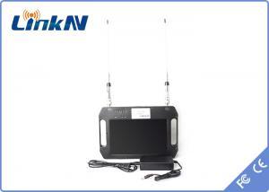 China Black BNC Handheld COFDM Receiver with SD analog / HDDigitalvideooutput on sale