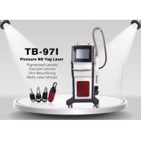 Picosecond Laser Technology Carbon Treatment Tattoo Pigment Removal 1064nm 532nm 755nm
