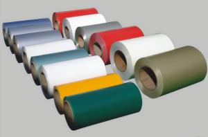 China Colorful Pre Painted Aluminium Sheet In Coils, 1000 And 3000 Series For Roofing on sale
