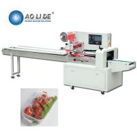 China High Speed Flow Wrapper Lemon Lime Grapefruits Cherry Tomatoes Peaches Apricots Fruits Sealing on sale