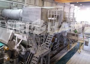 China 50 - 100KW Tissue Paper Making Machine Automatic Paper Mill Turn Key Project on sale